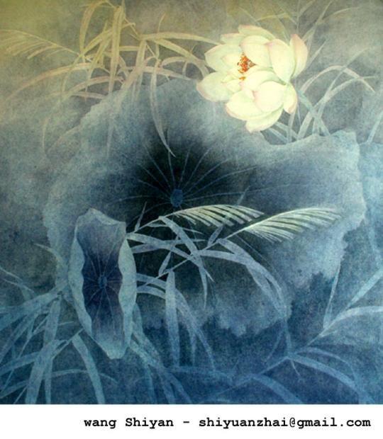 Wans shiyan est un peintre chinois contemporain chine for Artiste peintre chinois