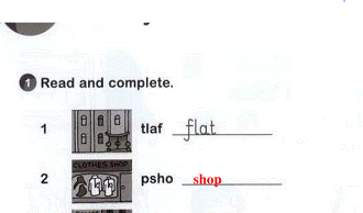 الإنجليزي سادس إبتدائي الفصل الدراسي الثاني Reading Diagram Completed