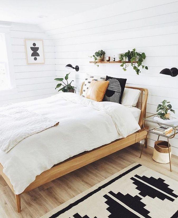 40 Bohemian Minimalist mit Urban Outfiters Schlafzimmer Ideen #bohobedroom
