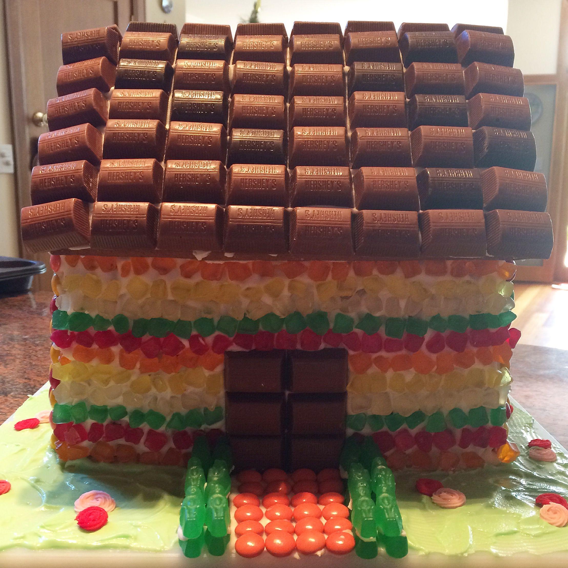 Gingerbread House Christmas Baking Hershey
