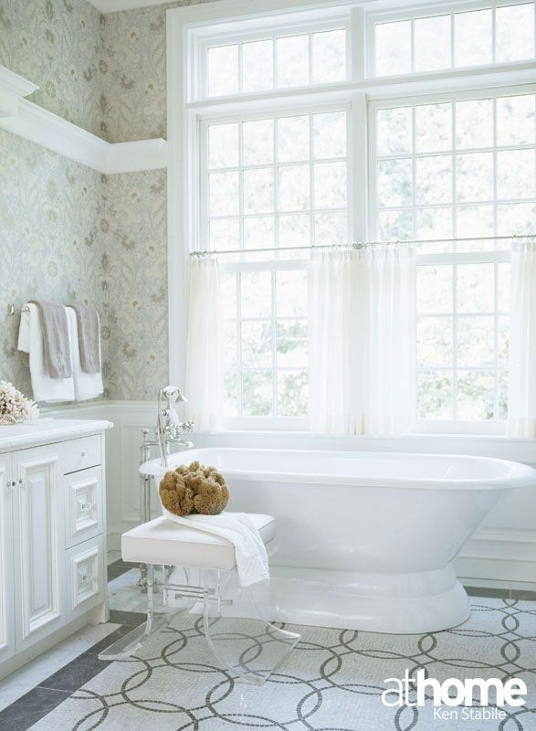 Bathroom Design Inspiration | Fairfield County, CT | Athomefc.com