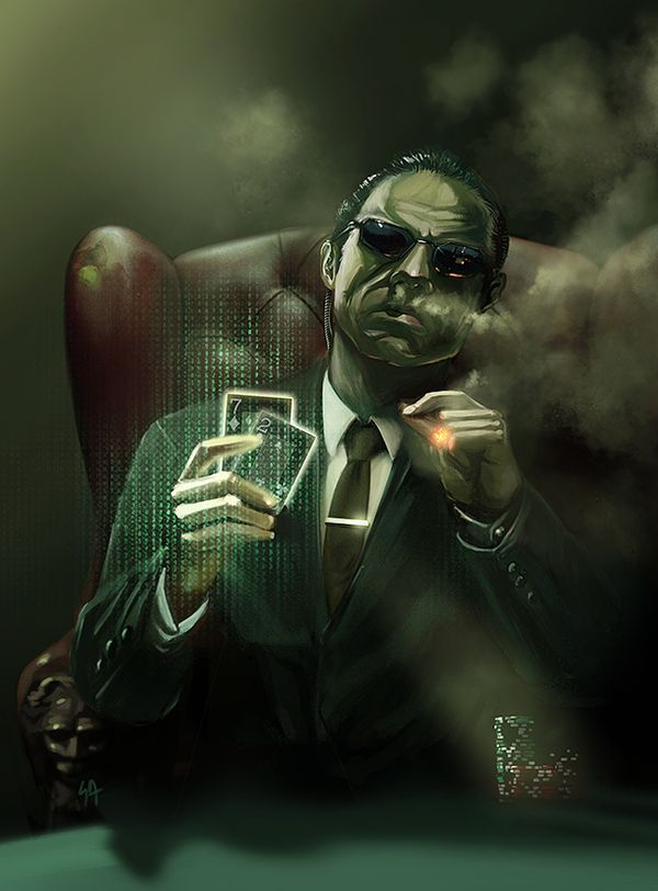 """""""Illusions Mr. Anderson, vagaries of perception. Temporary constructs of a feeble human intellect trying desperately to justify an existence without meaning or purpose."""" 