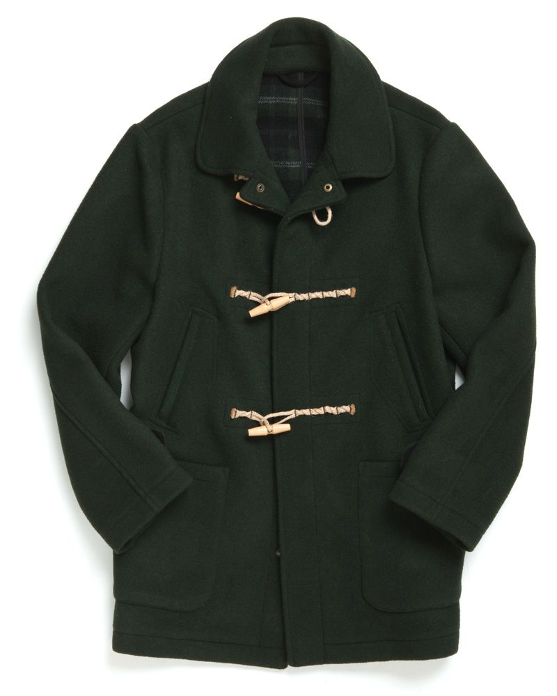 Green Gunner CJ's Car Coat