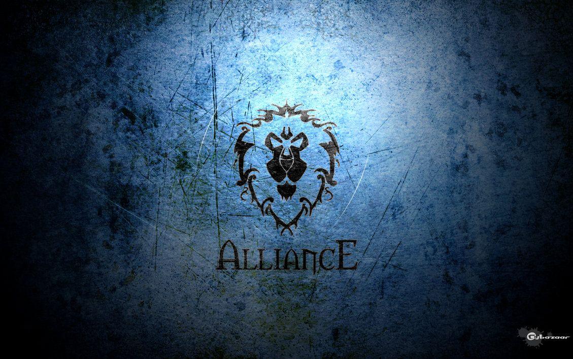 Alliance Wallpaper By Cybazaar On Deviantart World Of Warcraft Wallpaper World Of Warcraft World Of Warcraft Characters
