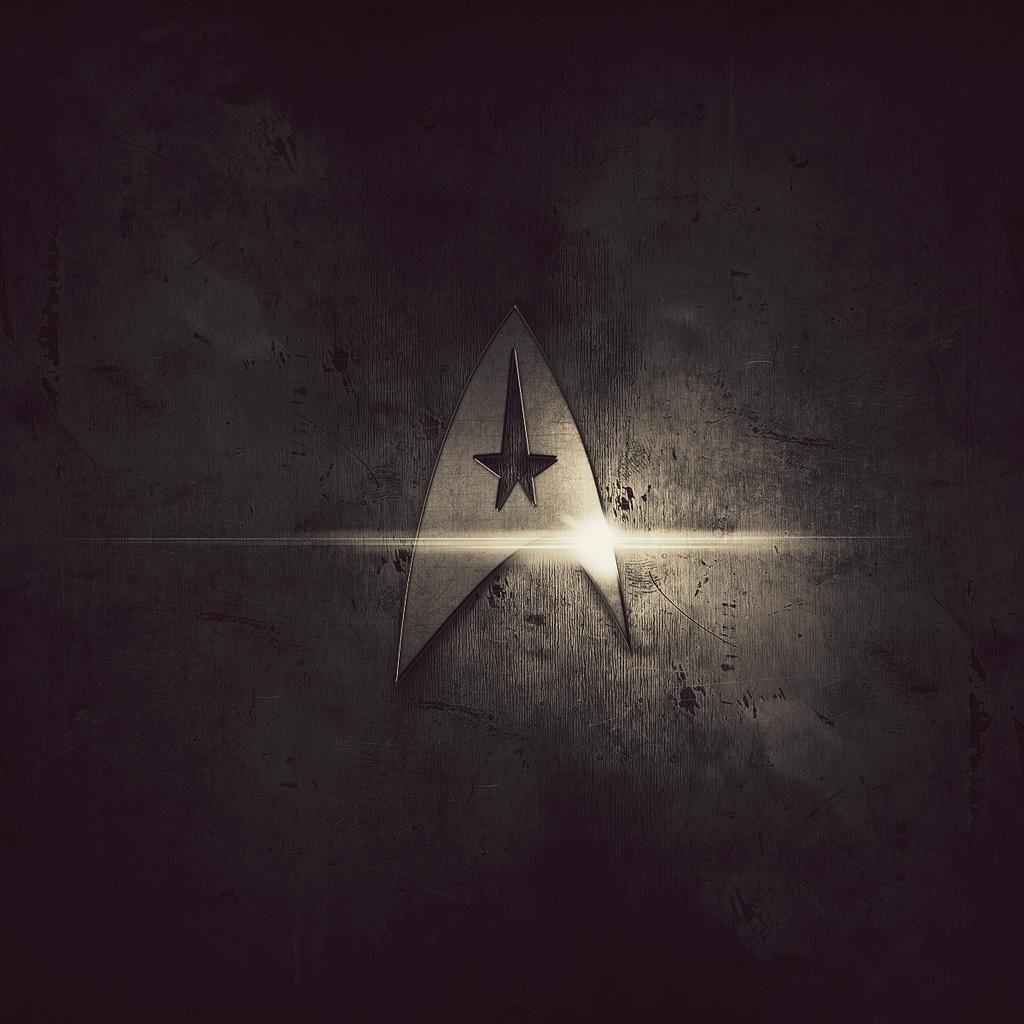 Star Trek Logo Ipad Wallpapers Star Trek Wallpaper Star Trek