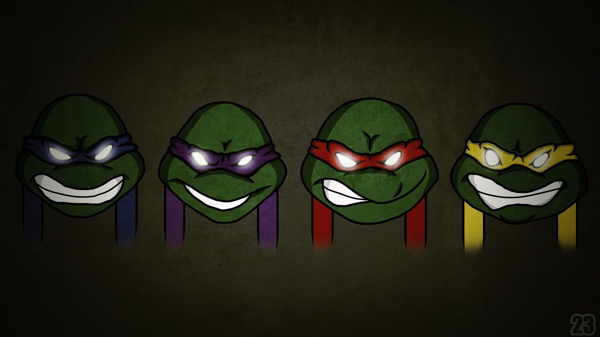 """Teenage Mutant Ninja Turtles Cartoon Car Bumper Window Sticker Decal 4.5/""""X4.5/"""""""