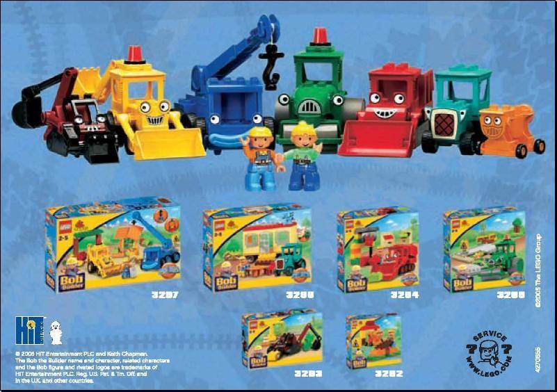 Duplo Bob The Builder Lego 3297 Lego Lego For Kids Bob The