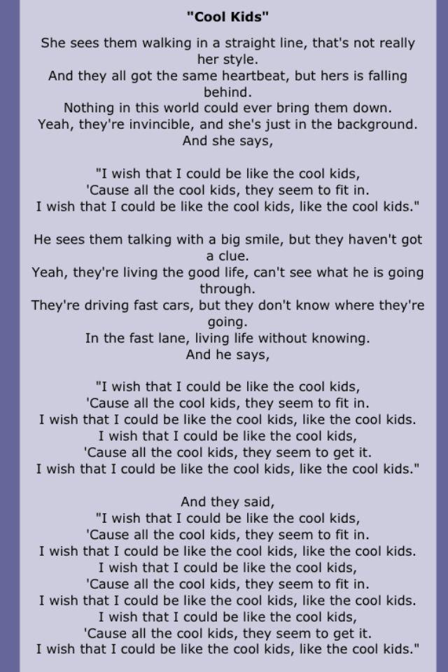 Echosmith Music Quotes Lyrics Music Lyrics Song Lyrics