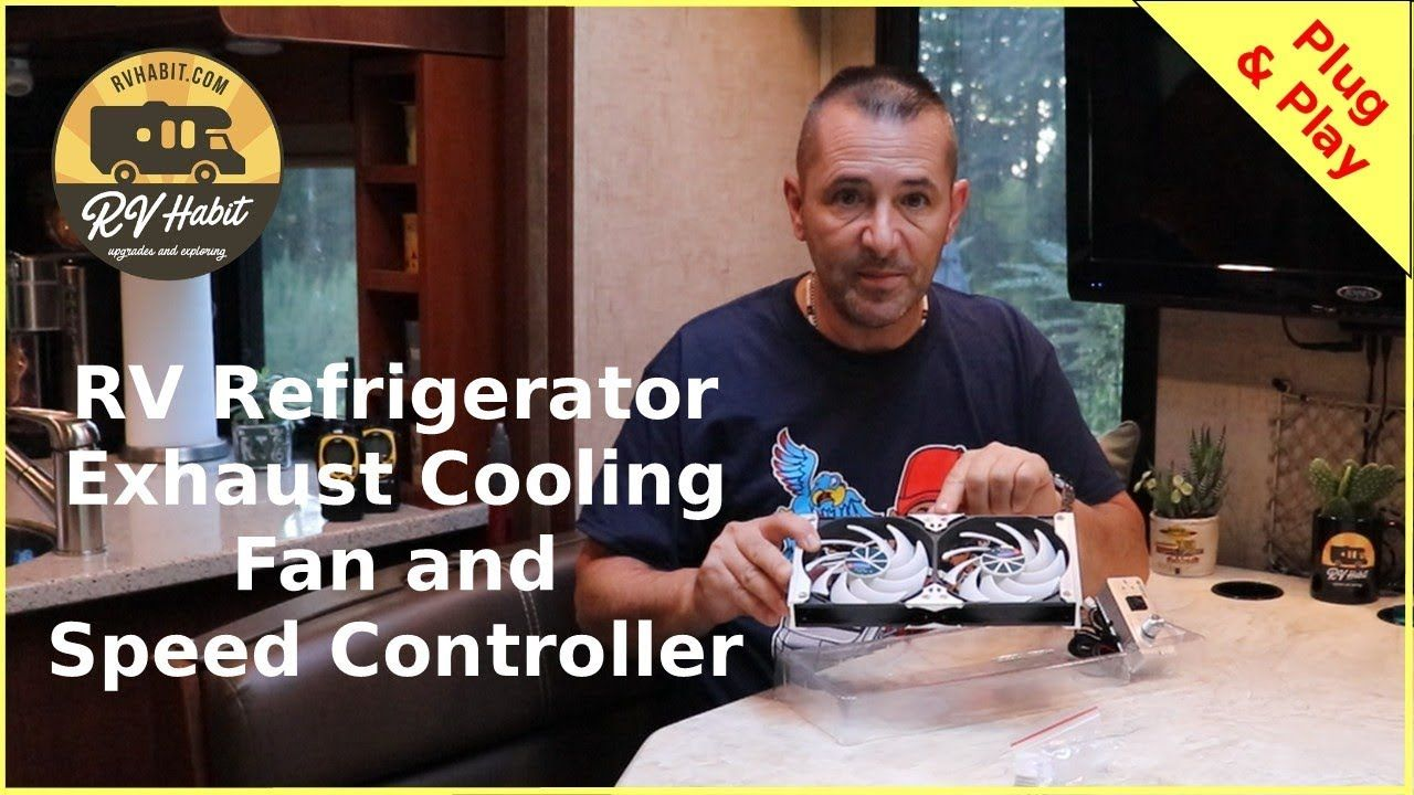 Titan Rv Refrigerator Cooling Exhaust Fan And Speed Controller