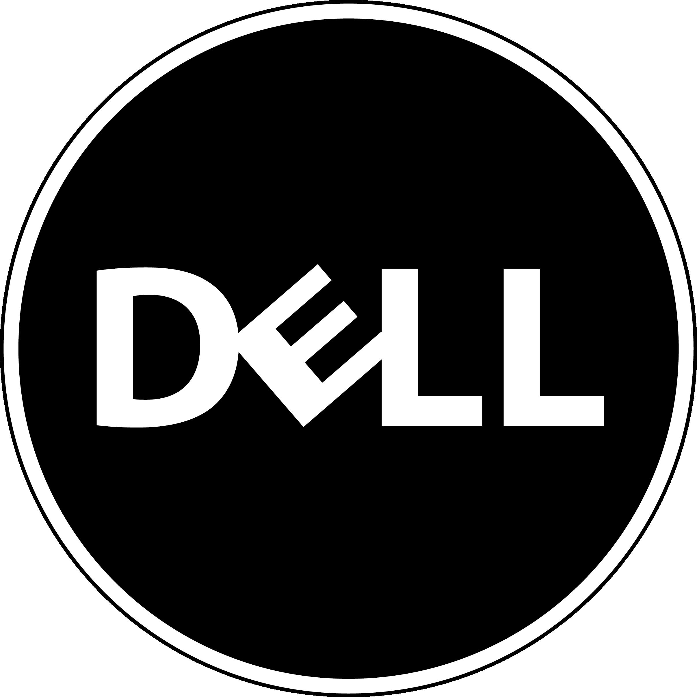 Black Dell Logo Dell logo, Logo design, Lululemon logo