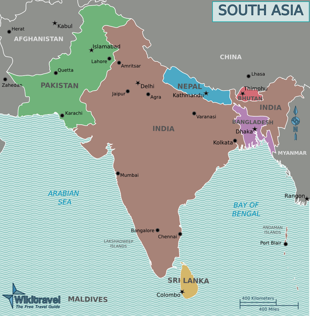 political south asia