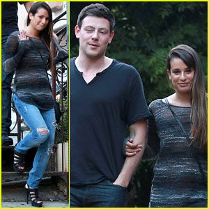 How long has cory monteith and lea michele been dating