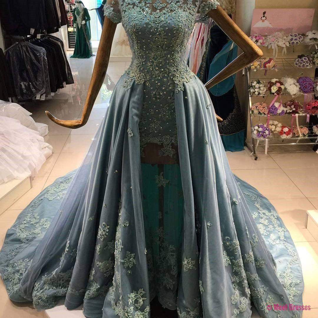 New arrival prom dressmodest prom dresslong sleeves prom dresses