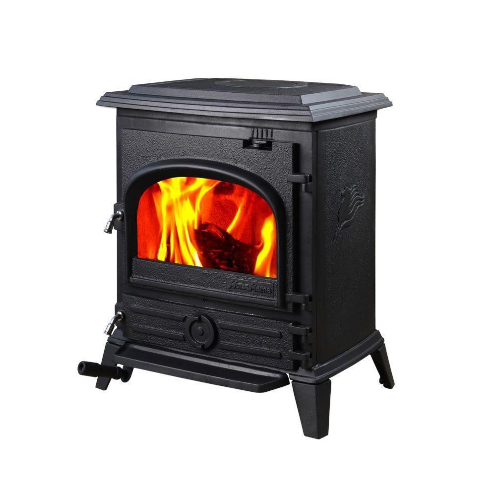 Hi Flame 1200 Sq Ft Pony Small Wood Burning Stove Hf 517upbl