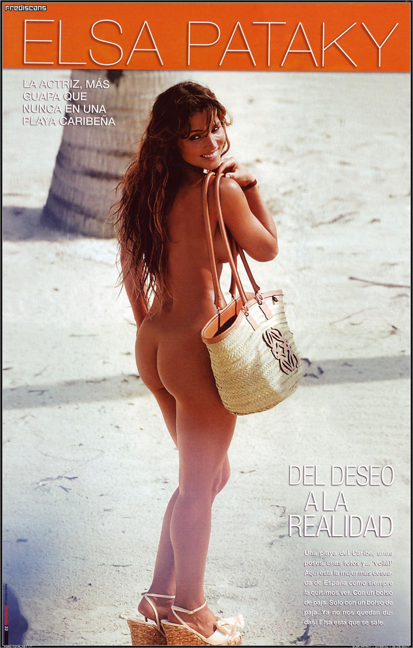 Condenan A Interviú Por El Desnudo Robado A Elsa Pataky Elsa