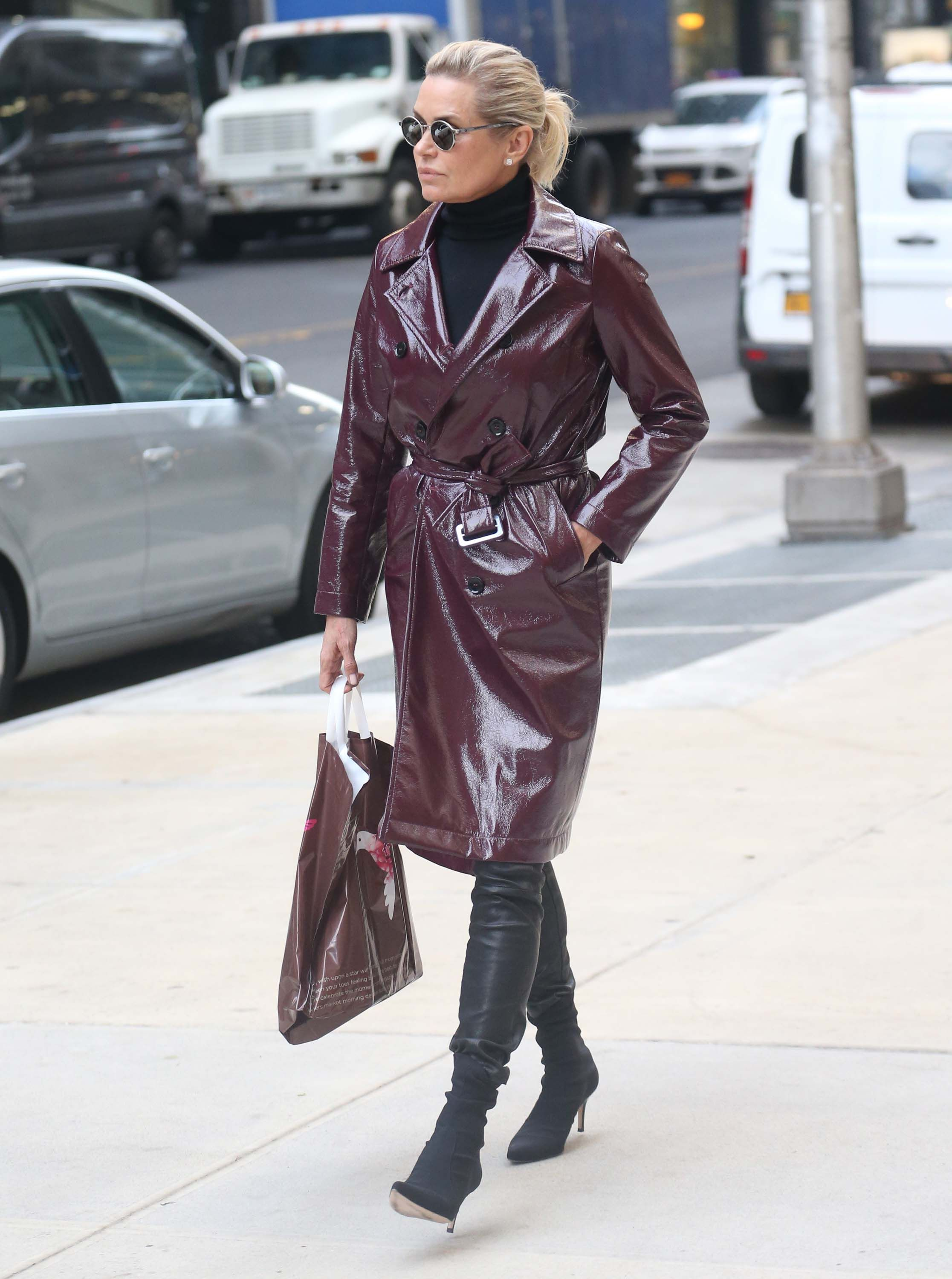 fe93b0f903 Yolanda Hadid out and about in New York