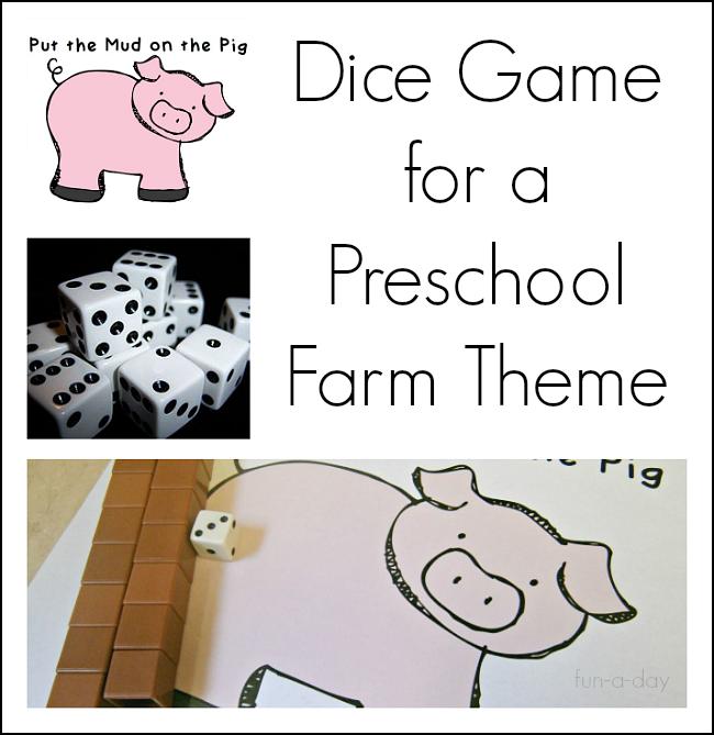 graphic regarding Preschool Math Games Printable named Preschool Math Recreation for a Farm Concept Clean Academics