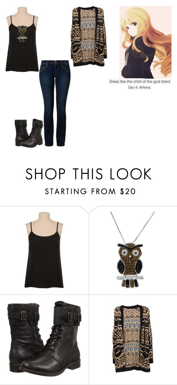 """""""Percy Jackson Outfit Challenge: Day 4"""" by ilovecats-886 ❤ liked on Polyvore featuring Jewel Exclusive, UGG Australia, Lush Clothing and MUSTANG"""