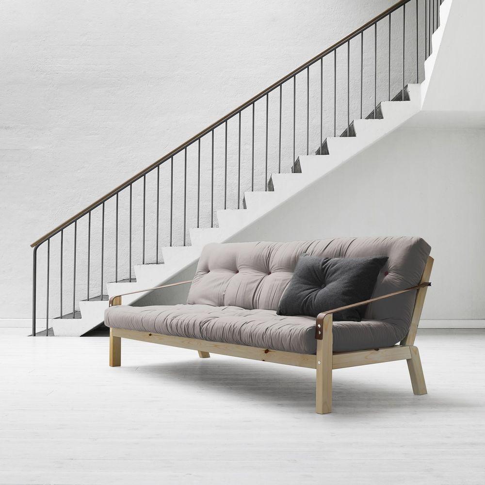 Dettagli su Divano Letto futon Poetry Karup con struttura