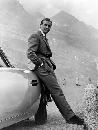 """Sean Connery. """"007, James Bond: Goldfinger"""" 1964, """"Goldfinger"""" Directed by Guy Hamilton Photographic Print at AllPosters.com"""