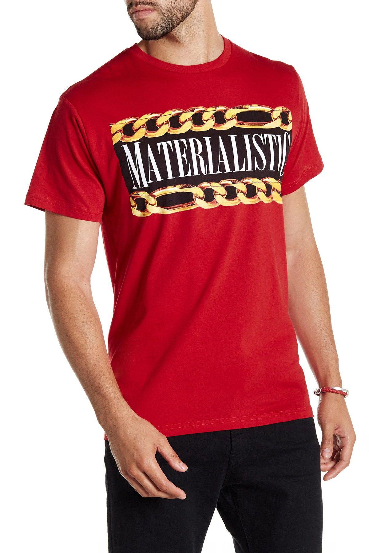 Materialistic Crew Neck Tee