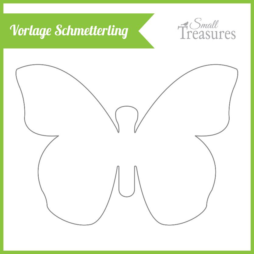 Nett Vorlage Für Schmetterling Ideen - Dokumentationsvorlage ...