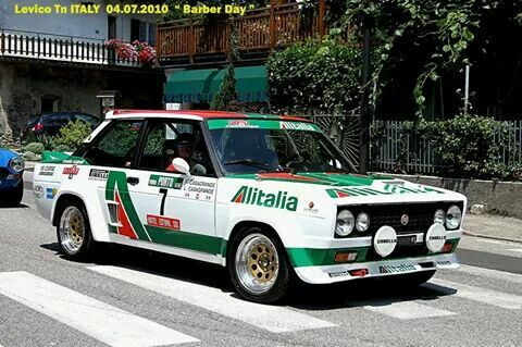 131abarth With Images Fiat Fiat Cars Rally Car
