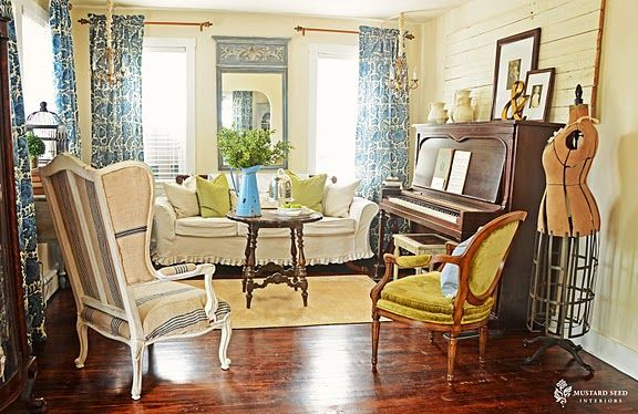 How To Decorate Series Creating Beauty On A Budget By Miss Mustard Seed Antique Living RoomsFunky