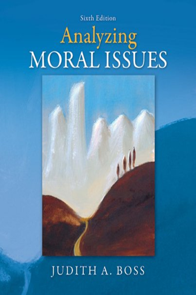 Analyzing Moral Issues By Judith Boss Hssl Political Books Philosophy Books Free Books Online