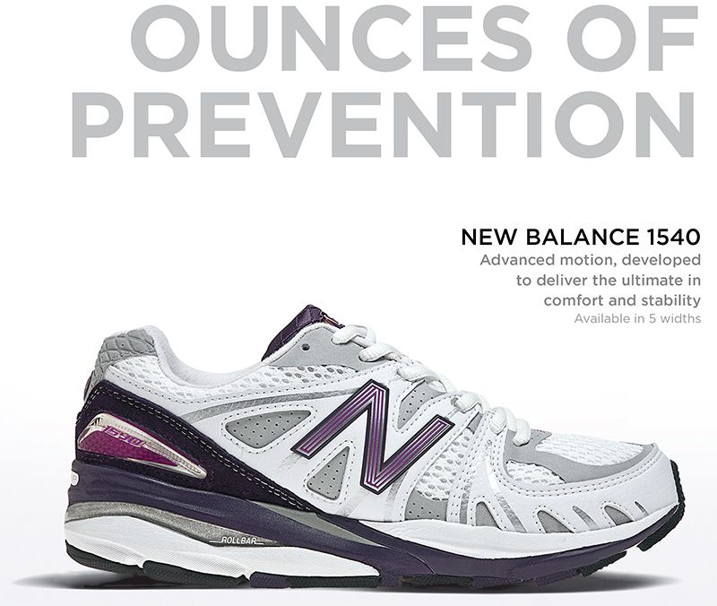 New Balance 1540 rojo