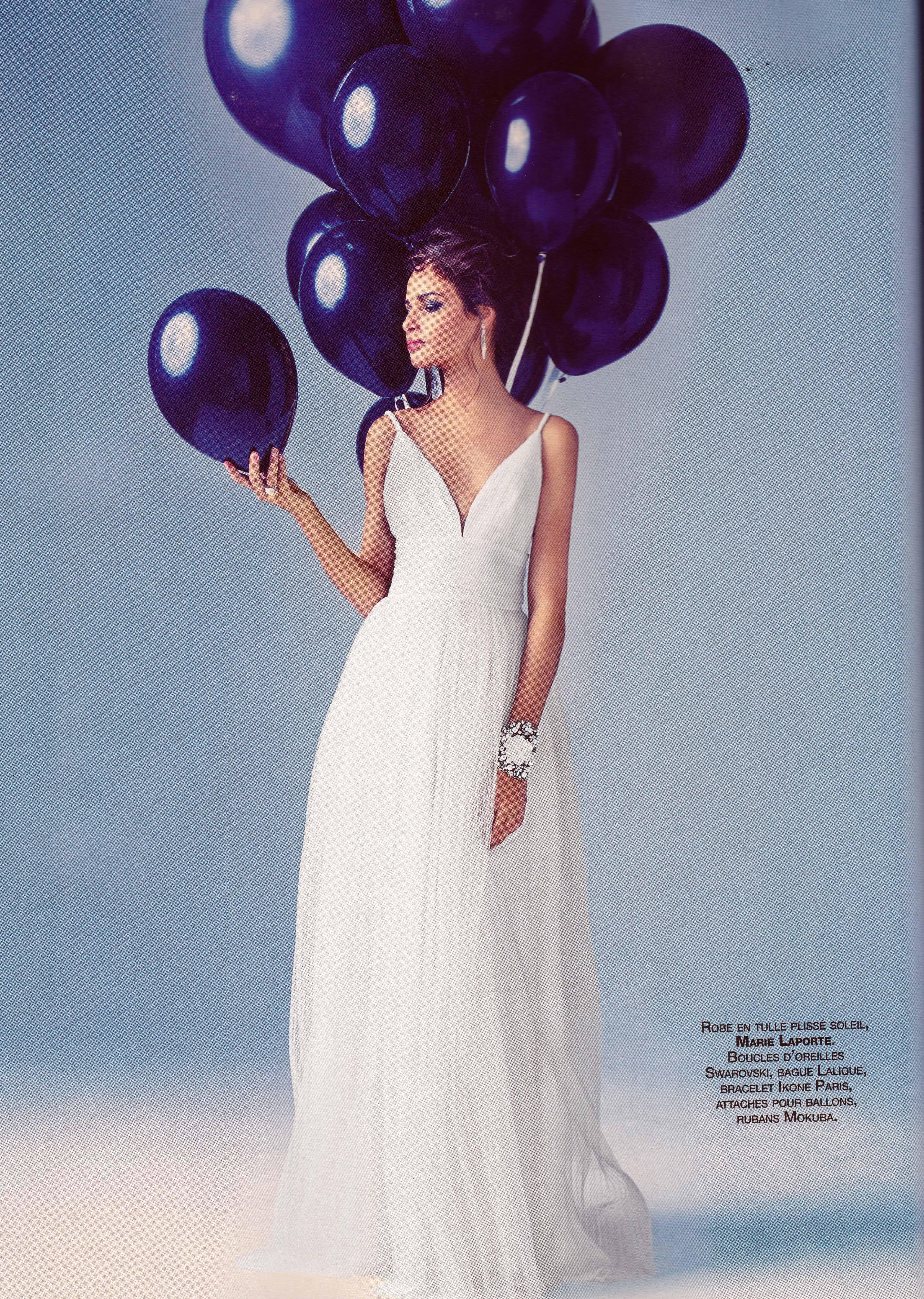 Marie laporte robe iris
