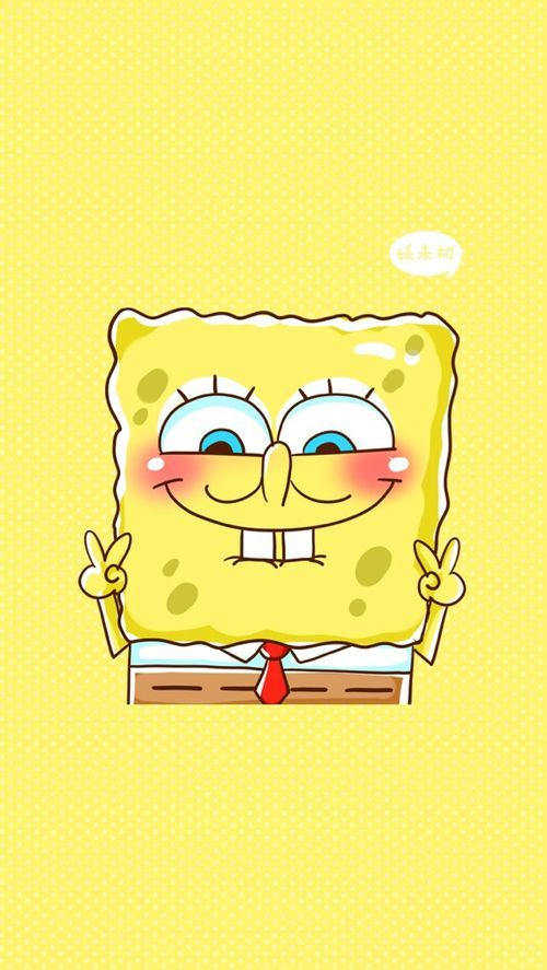 Sponge Bob uploaded by Pamela Moreno Rodas on We Heart It