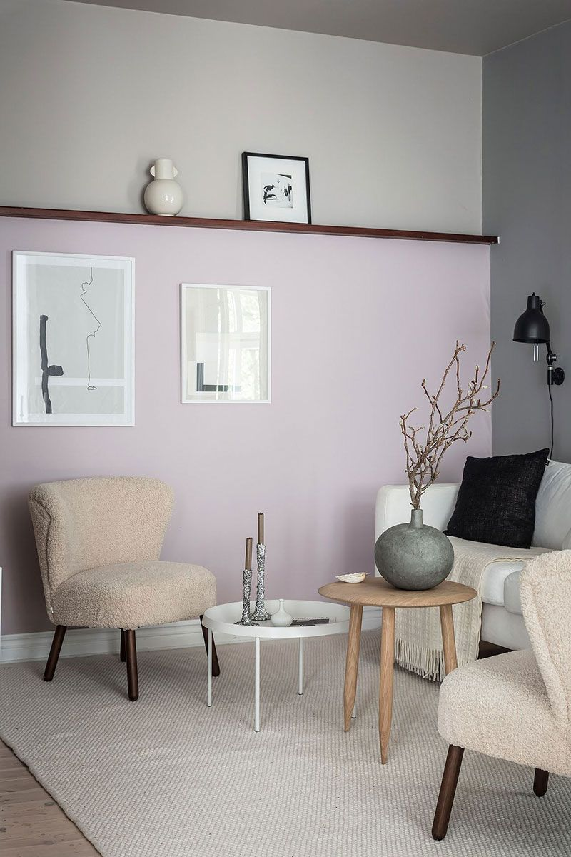 〚 Pastel walls and light furniture: airy apartment in Goteborg 〛 ◾ Фото ◾Идеи◾ Дизайн