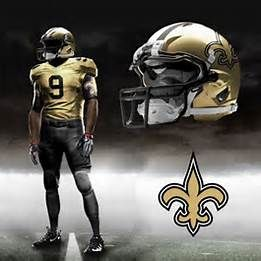 New Orleans Saints Concept Uniforms New Orleans Saints Saints