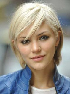 Pictures of Blonde Short Hairstyles | Highlighted hairstyle ...