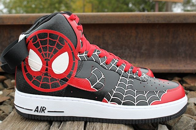 best service 2804f 013d5 custom spiderman jordans - Google Search