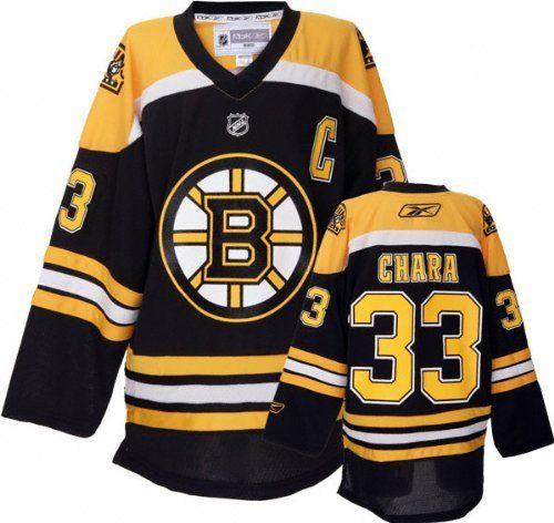 separation shoes 48899 c2a70 Zdeno Chara Youth Jersey: Reebok Black #33 Boston Bruins ...