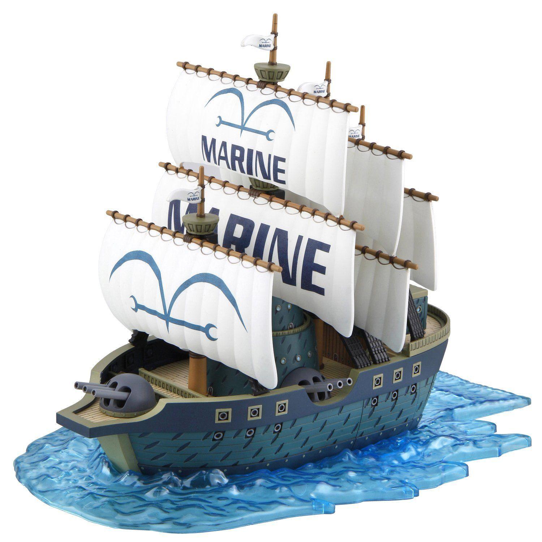 Bandai ONE PIECE Grand Collection Garp/'s War Ship Plastic Model kit Japan