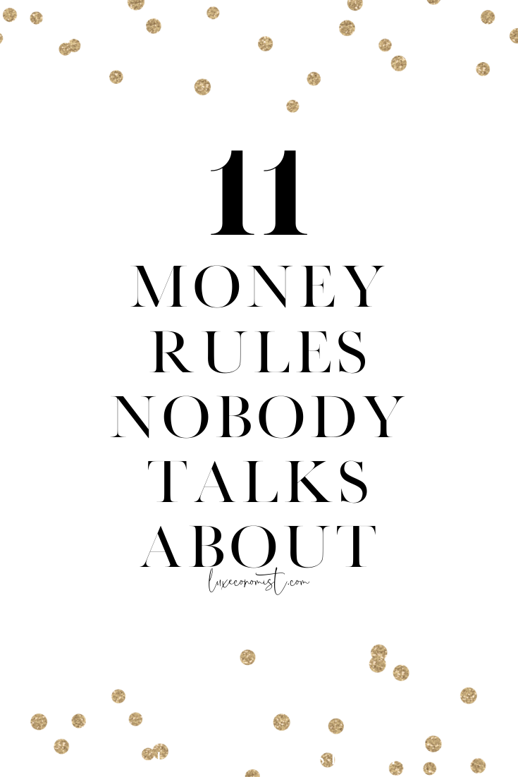 Like most people, you probably did not learn about money