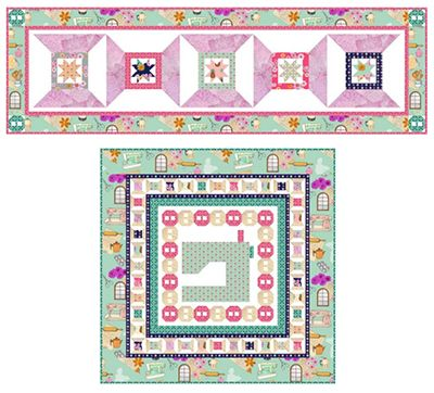 Download Free Pattern Spool Time by RJR Fabrics. Free Sewing and ...