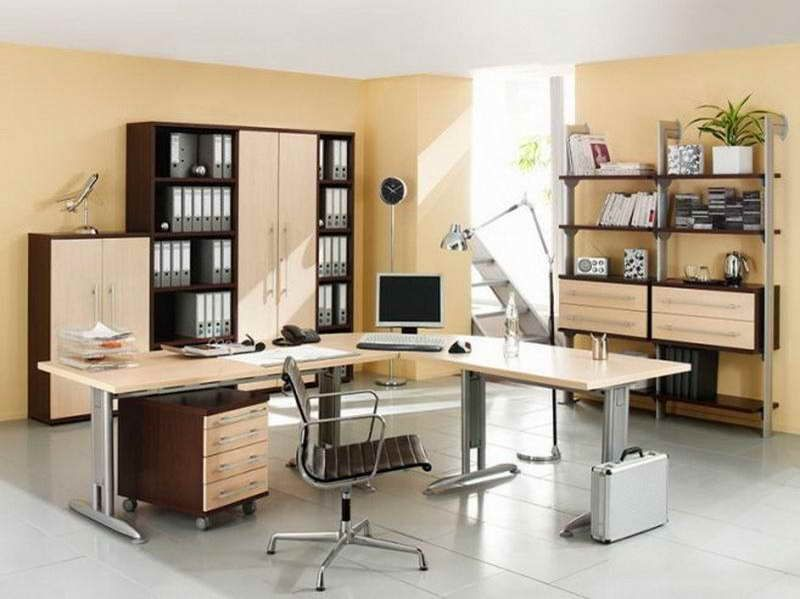 IKEA Office Desk Furniture with white tile Office Space - g nstige k chen ikea