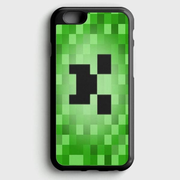 Minecraft Creeper Blue Like A Boss Iphone 8 Case Jake Minecraft