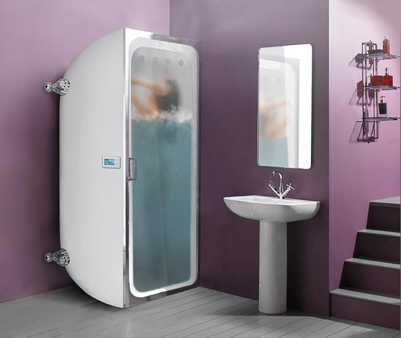 Introducing the world\'s first vertical bath! Wouldn\'t you like this ...