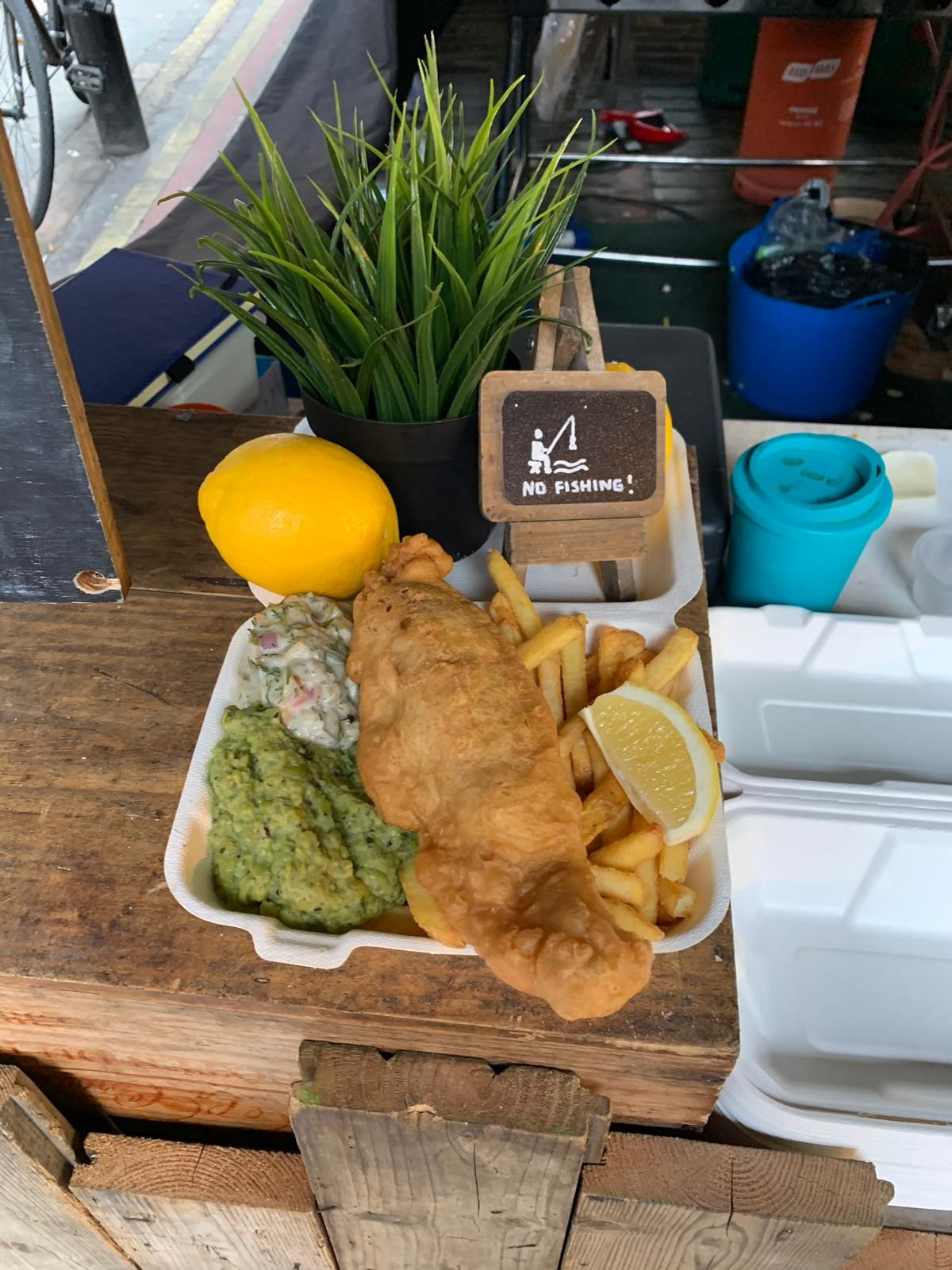 The Best Allergy Friendly Fish And Chips In London Enjoy A Classic British Meal Delic London Fish And Chips Vegan Fish And Chips Gluten Free Fish And Chips