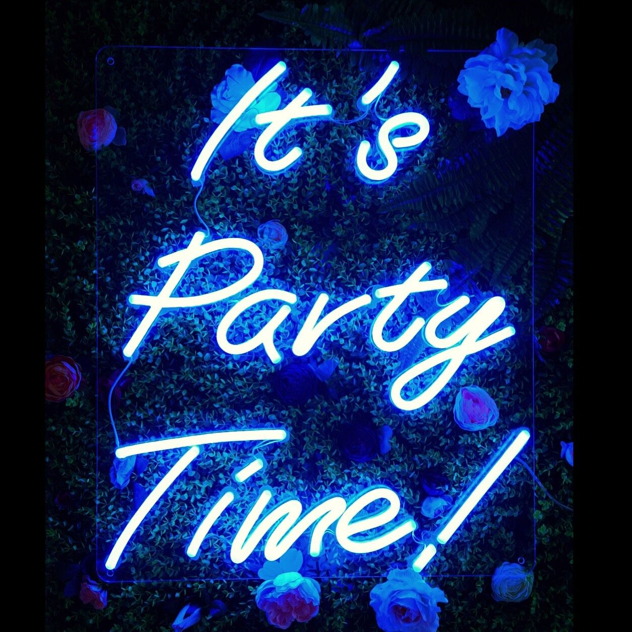 Party Time It S Party Time Neon Sign For Weddings Parties And Home Www
