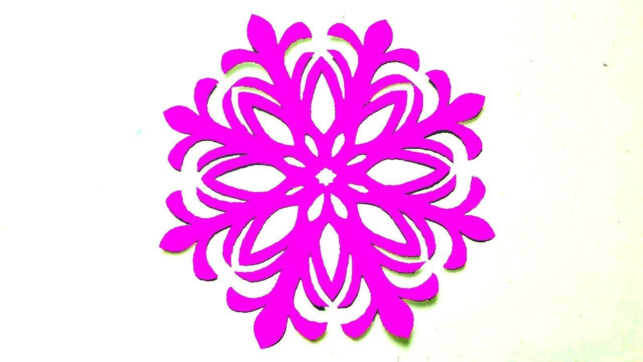 Paper Flowershow To Make Paper Cutting Flower Designs Step By Step