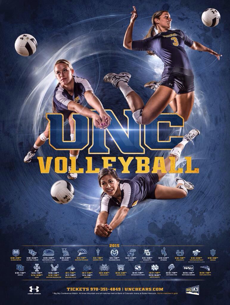 Good Varied Action Axis For All Three Players Volleyball Posters College Sports Poster Sport Poster Design