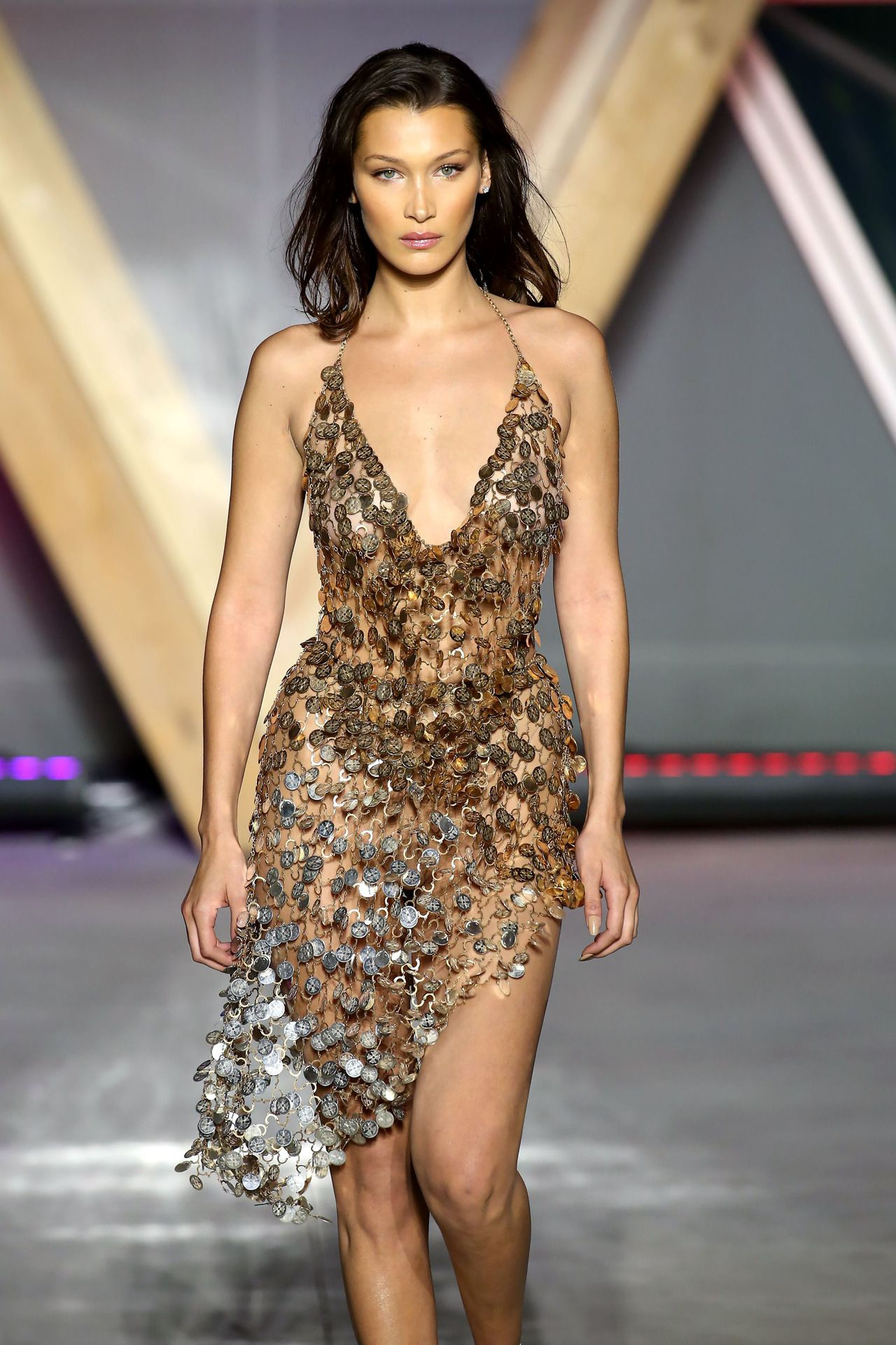 """bellahadidsource:""""Bella Hadid walking the runway for Fashion For Relief during the 71st Cannes Film Festival in Cann… 