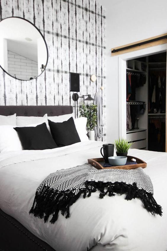 Black White Bedroom Decor Master Couple Bedroom Scandinavian Bedroom Design Acce White Bedroom Decor White Master Bedroom Master Bedroom Renovation