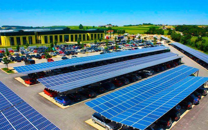 Solar panel hookups